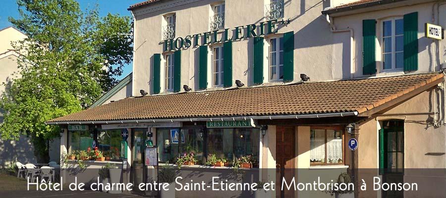 Hôtel restaurant proche de Saint-Etienne
