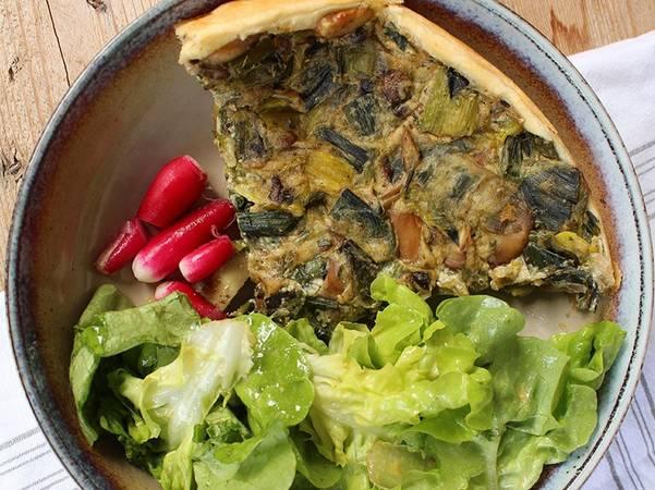 Recette quiche végétalienne facile à cuisiner