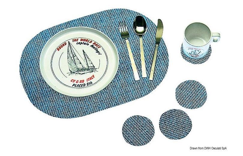Vaisselle marine pour bien manger et boire à bord de son bateau